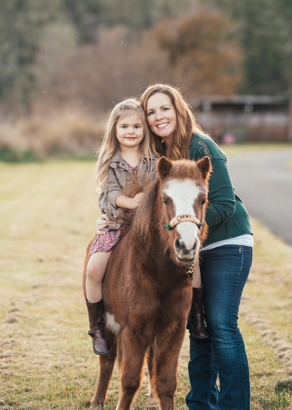 Cailtyn & her mom, Sara