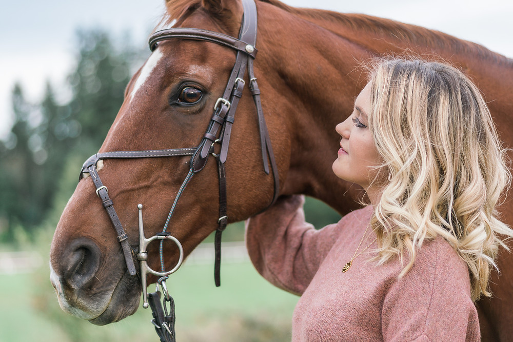 The special bond between a girl and her horse