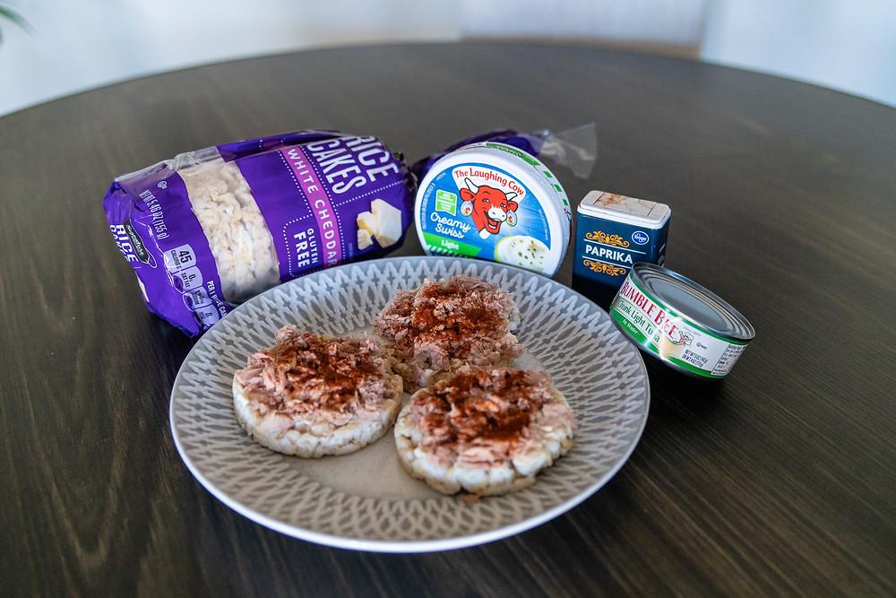 Rice Cakes & Tuna
