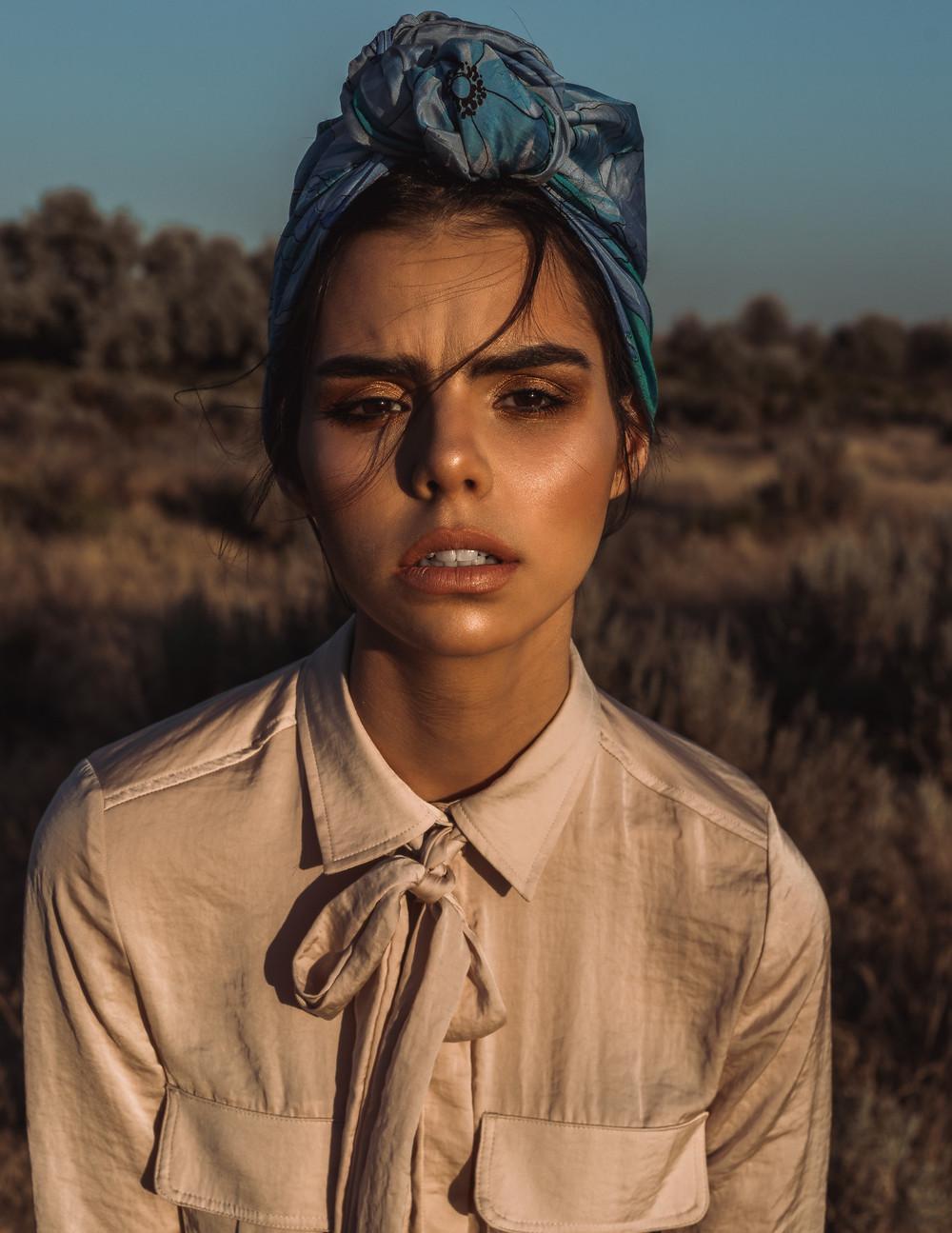 african safari fashion editorial