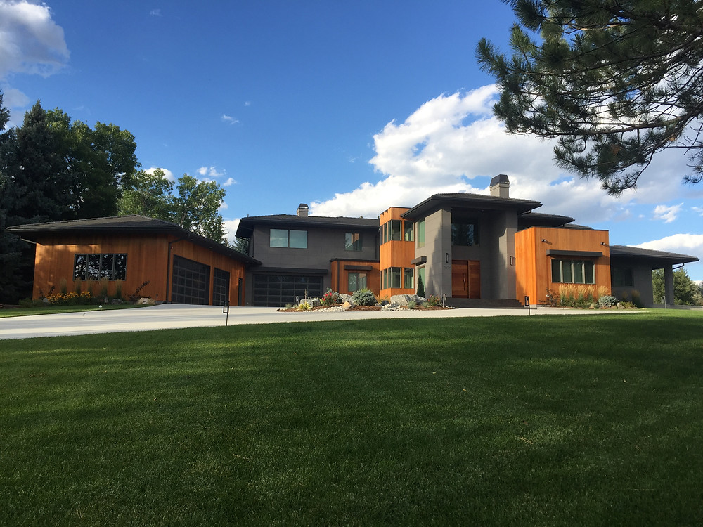 Boselli Residence is under construction in Boulder