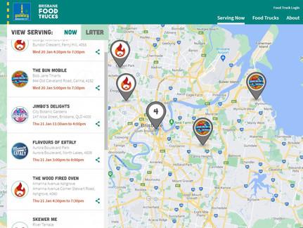 Brisbane Food Trucks Portal