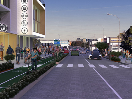 Future ready kerbside: Creating places that put people first