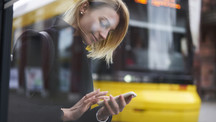 How are connected bus stops changing the way people travel?