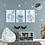 Thumbnail: Personalisierte Kinderillustration Robby Robbe Watercolor Fine Art Druck