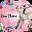 Thumbnail: Personalisierte Kinderillustration Emma Esel Watercolor Fine Art Druck