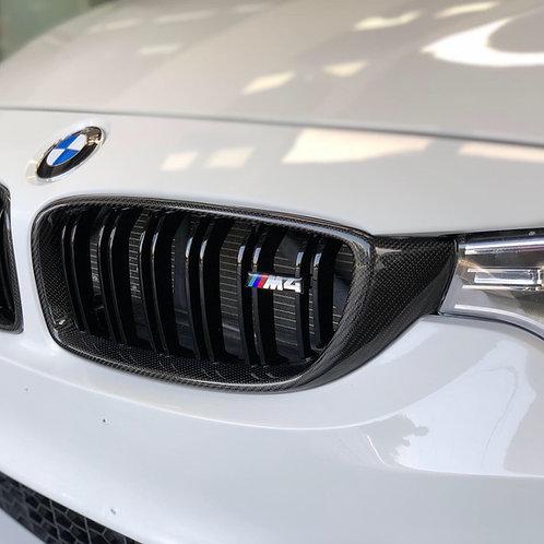 Parrillas BMW M4 fibra de carbono F32 - F82 - F83