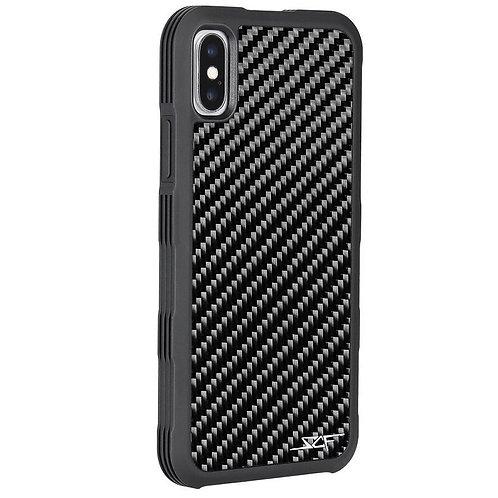 Cover celular fibra de carbono clasica