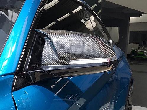 Covers de retrovisores estilo ///M BMW Serie F