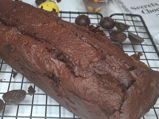 Cake au chocolat sans gluten, sans lactose et sans beurre.