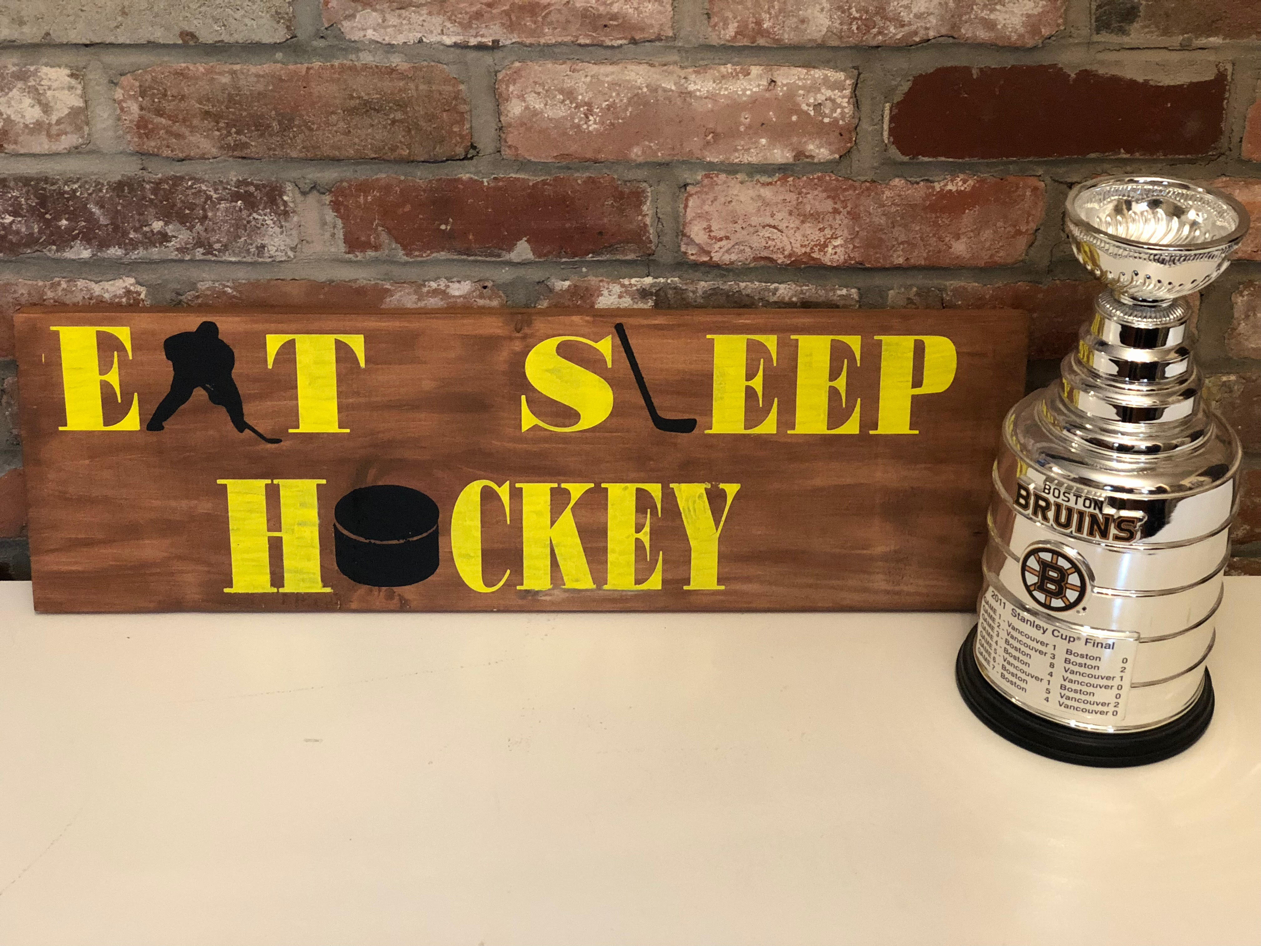 #206 Eat Sleep Hockey