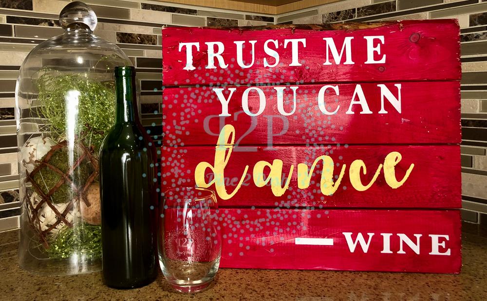 #43-TRUST WINE