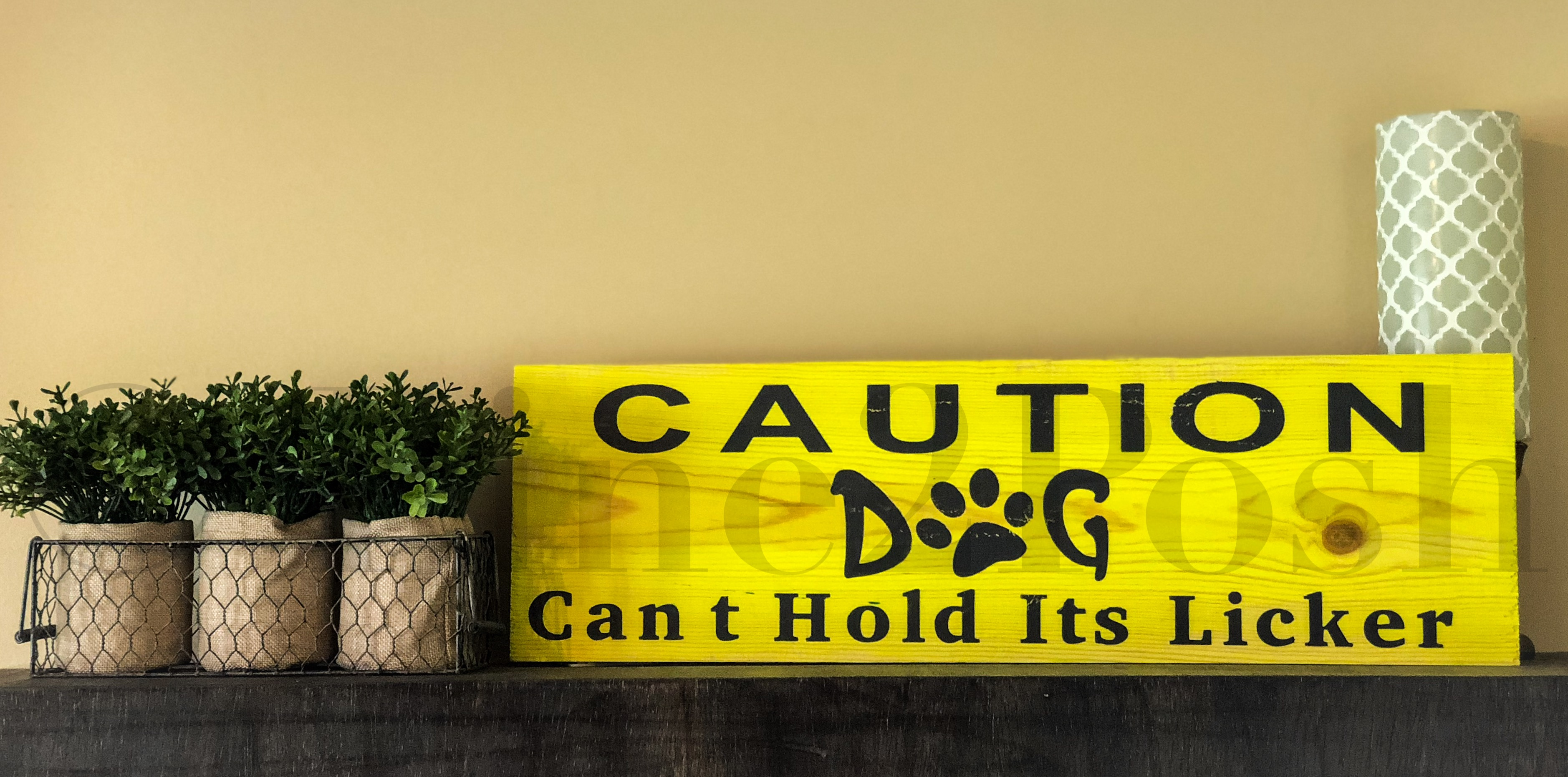 #40 - Caution Dog