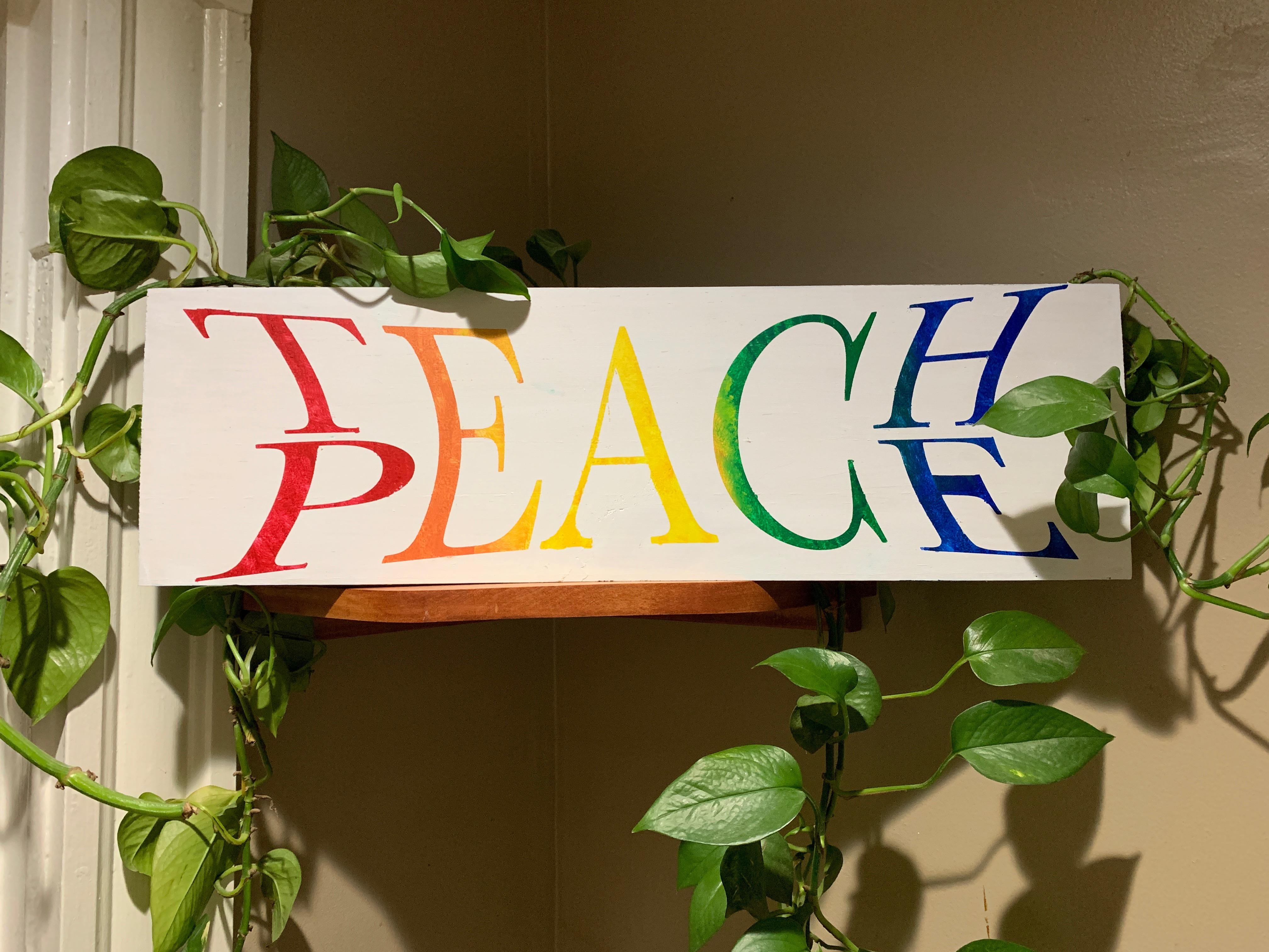 #321 Teach Peace