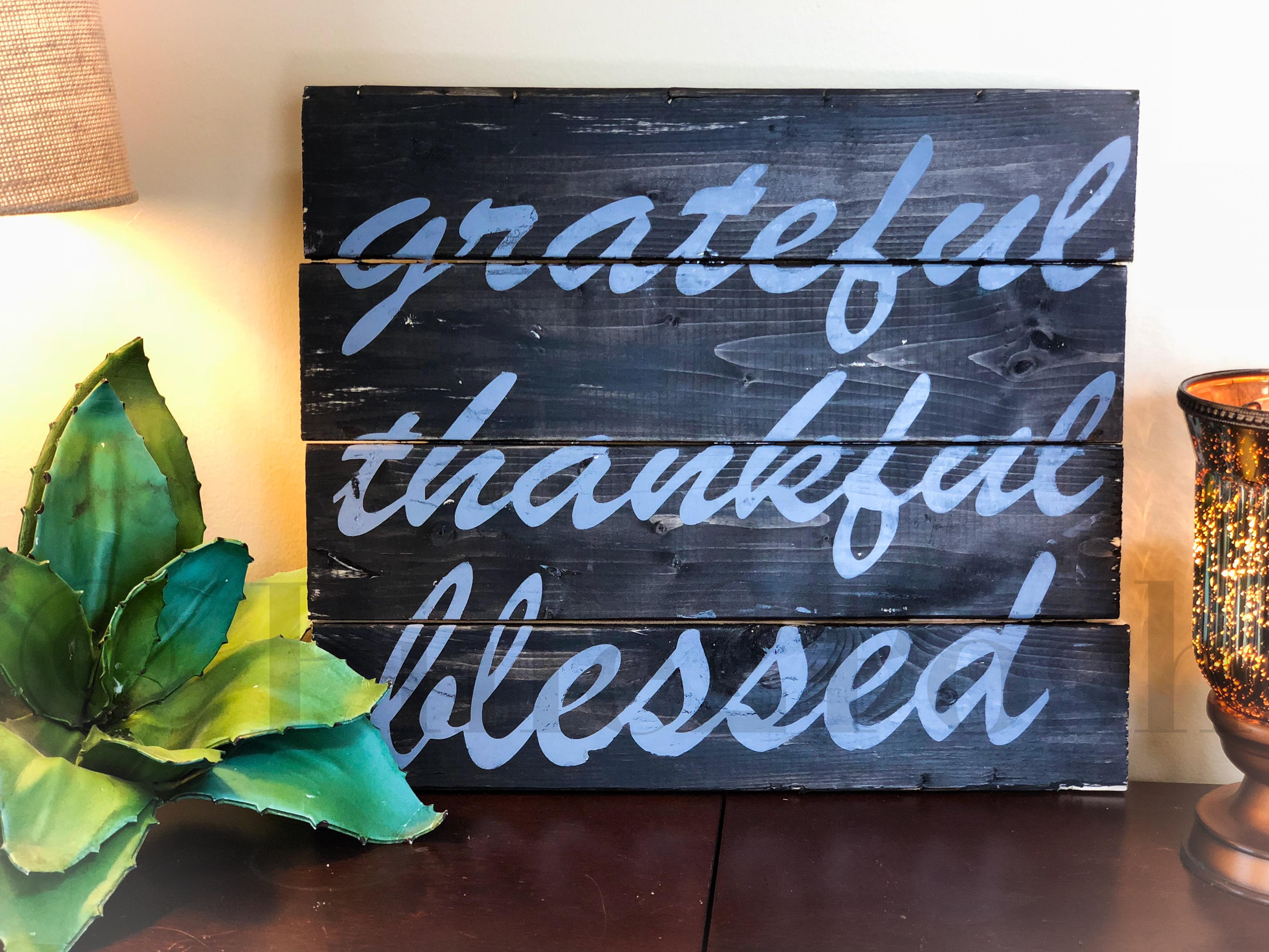 #4 - Grateful