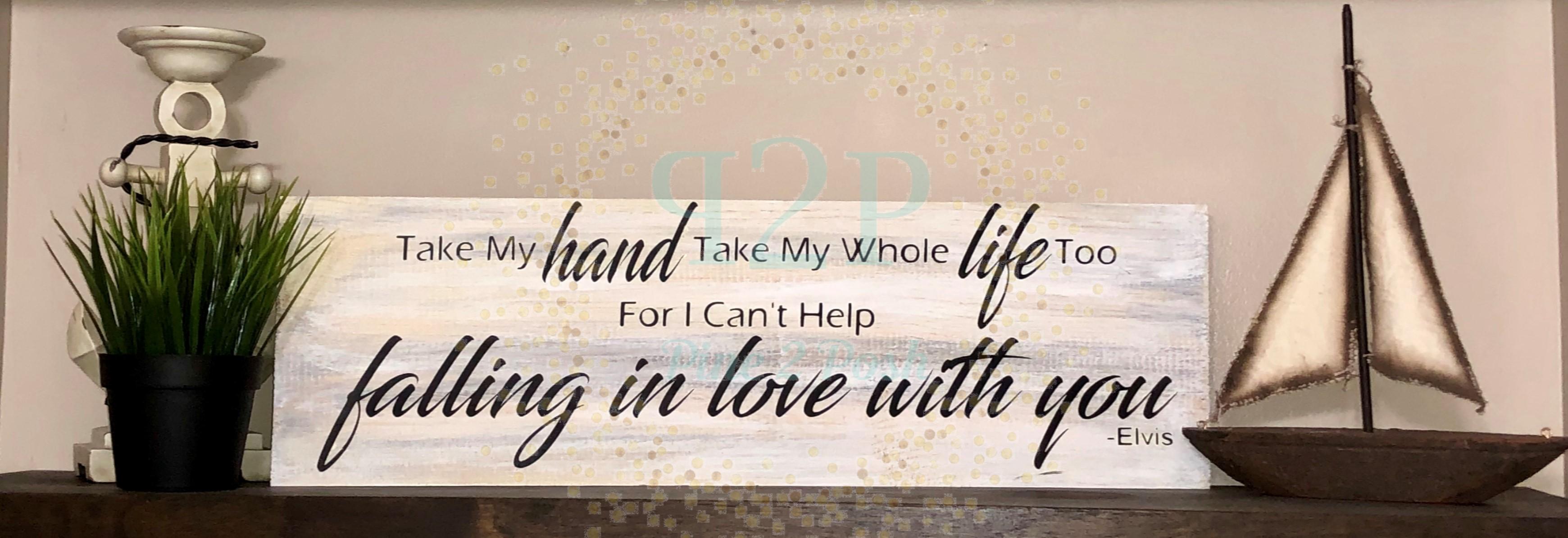 262 - Take My Hand