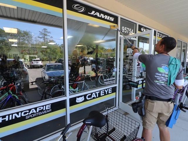 Retail Window cleaning, Fernandina Beach Florida