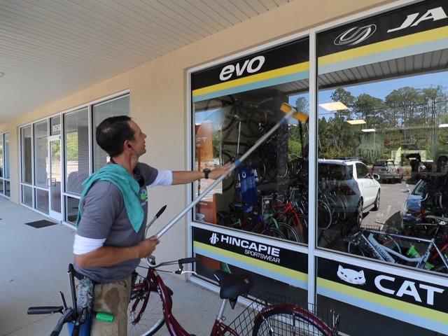 PK's Bike shop, Fernandina Beach Florida