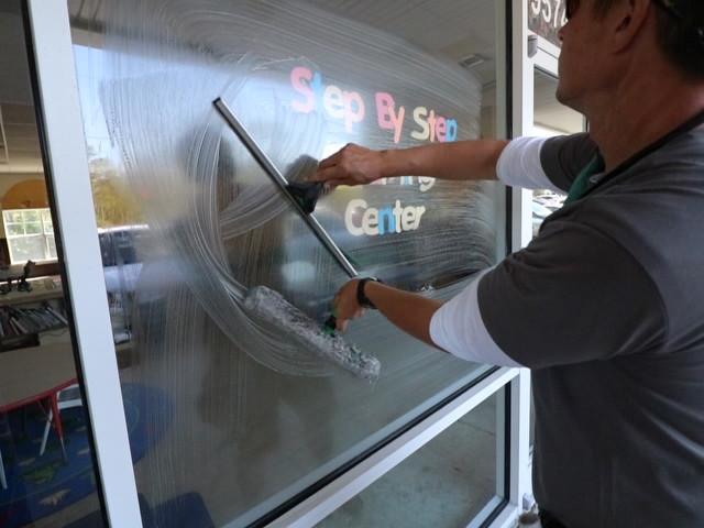 Window washing, Fernandina Beach FL