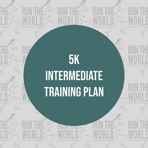 5k Intermediate Training Plan