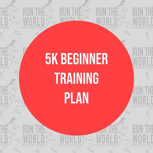 5k Beginner Training Plan