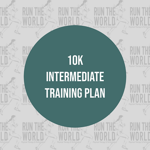 10k Intermediate Training Plan