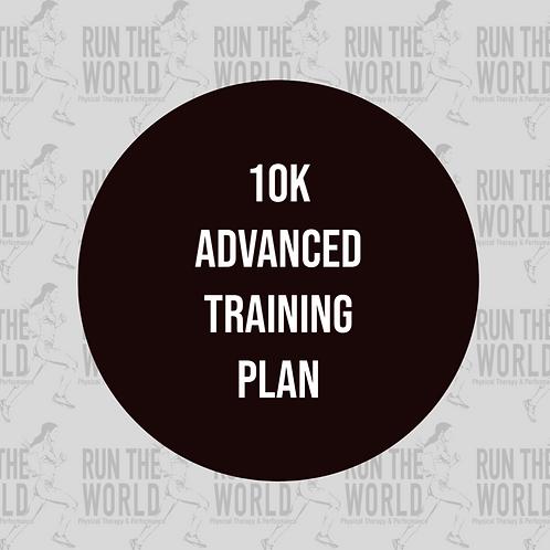 10k Advanced Training Plan