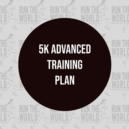 5k Advanced Training Plan