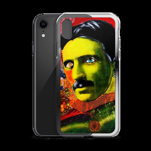 iPhone Case - Nikola Tesla 3.0 - by Schirka El Creativo