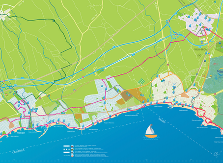 Las mejores rutas cicloturísticas de Cambrils a Vila-Seca