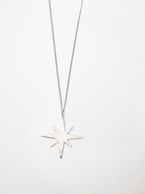 Matte Northern Star Necklace