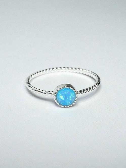 Blue Opalite Ring