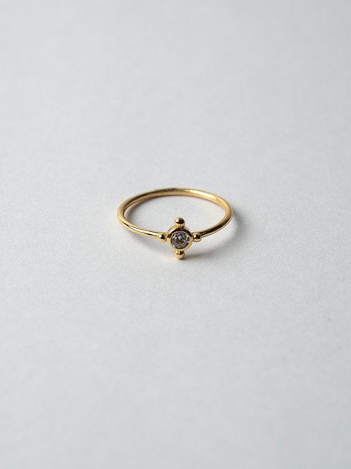 CZ Spot Ring