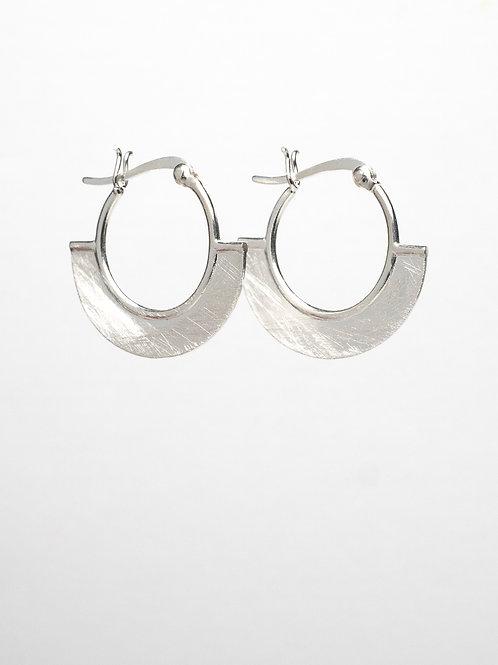 Matte Fan Earrings