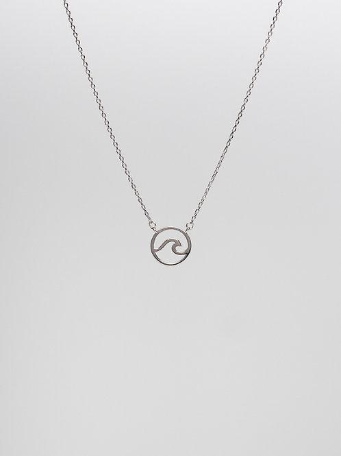 Floating Wave Necklace