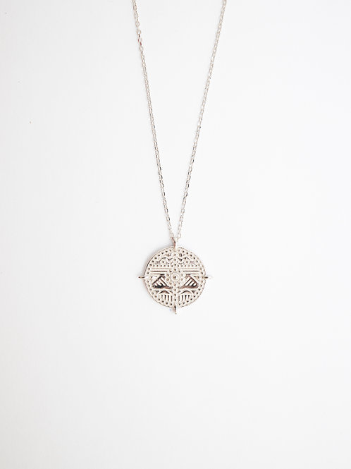 Cos Medallion Necklace