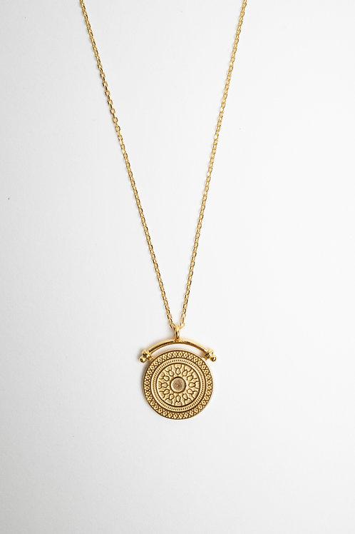 Corfu Medallion Necklace