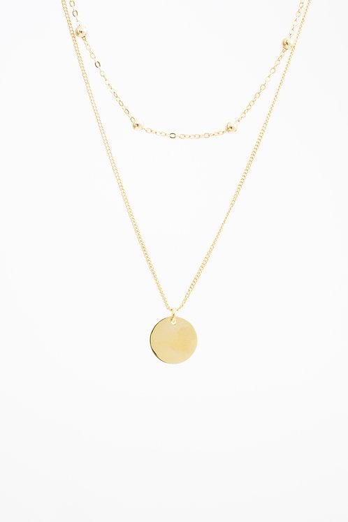 Layered Circle Necklace