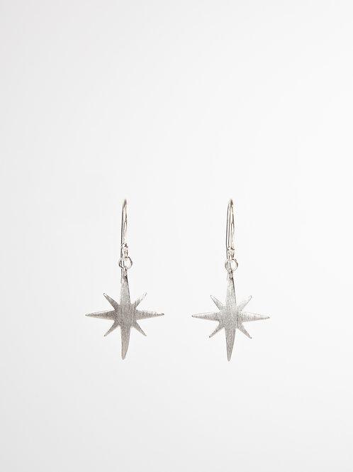 Matte Northern Star Earrings