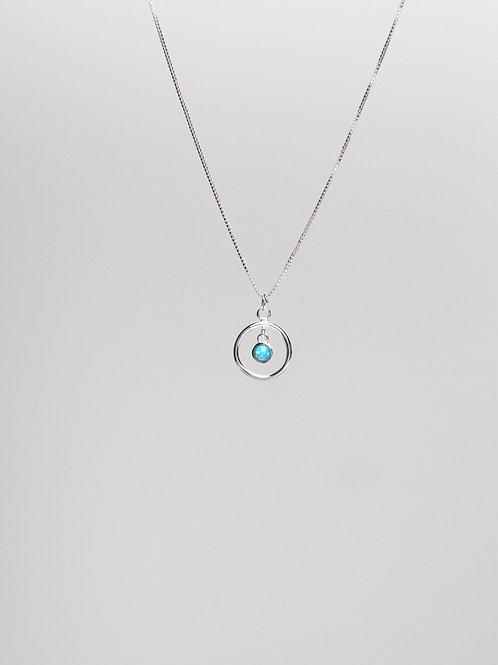 Framed Opal Necklace