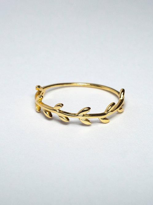 Gold Vine Ring