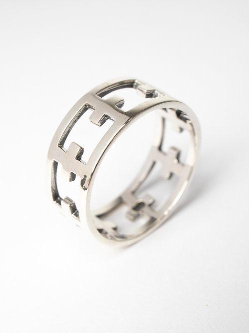 Cross Unisex Ring
