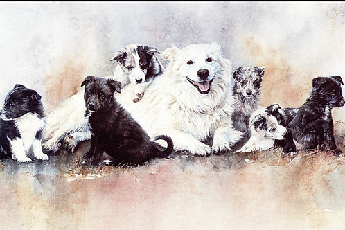 """""""All in the Family"""" - Limited Edition Greenwich Workshop Print"""