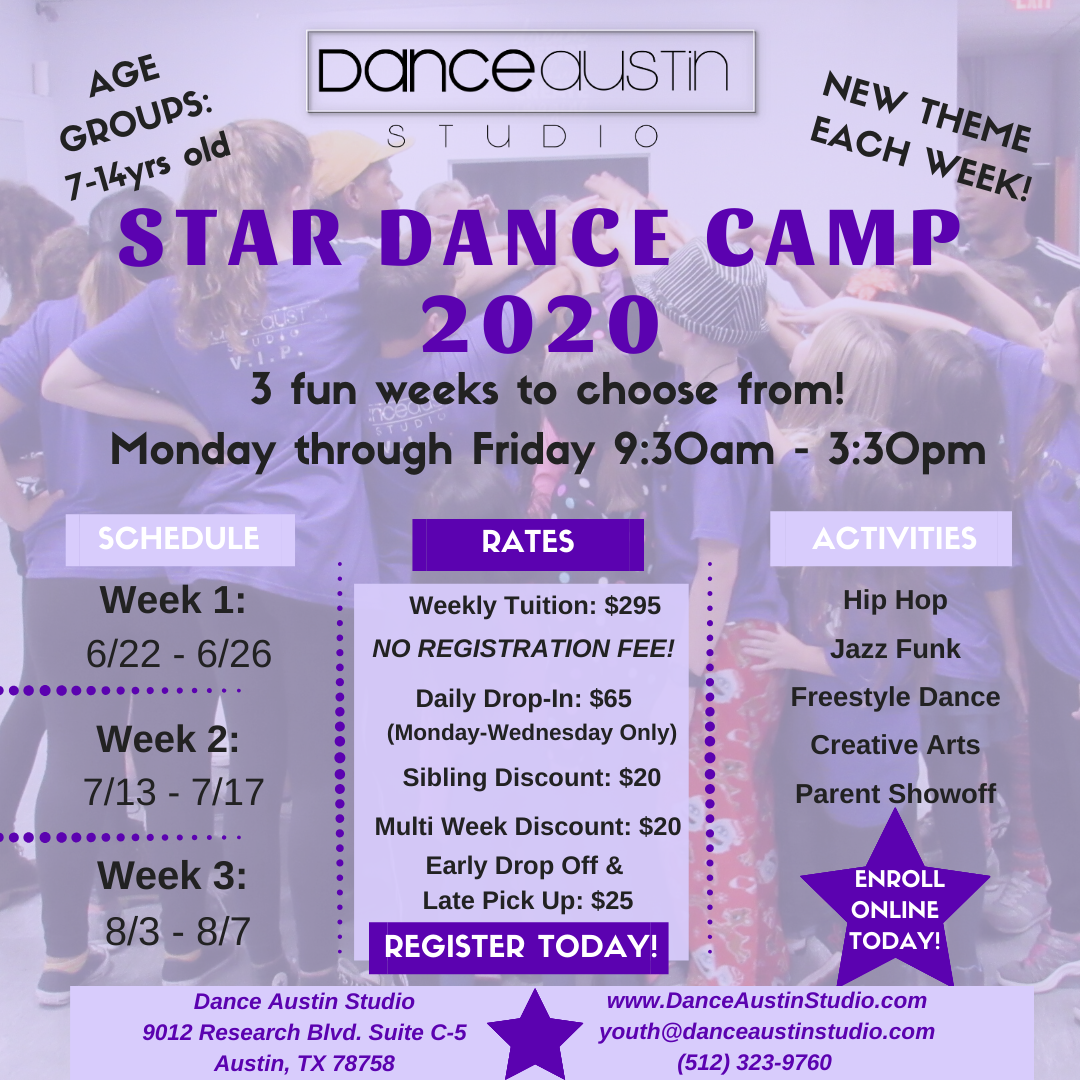 Summer Camp 2020 Flyer