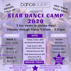 Summer Camp 2020 Flyer