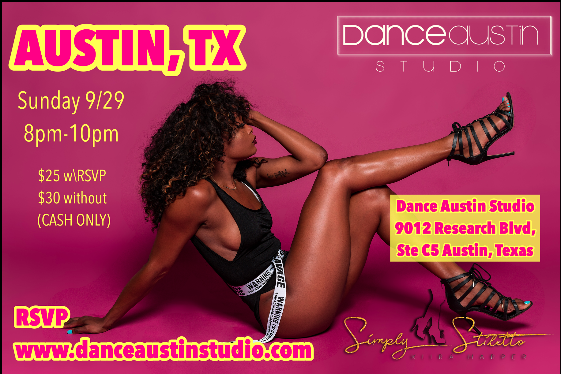 Kiira Dance Austin Studio  Masterclass .