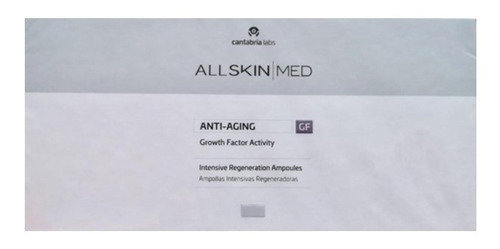 ALL SKIN MED Anti-aging [GF] Intensive Regeneration Ampoules (10X1 ML)