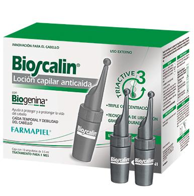 FARMAPIEL BIOSCALIN LOCION CAPILAR ANTICAIDA 10 AMP