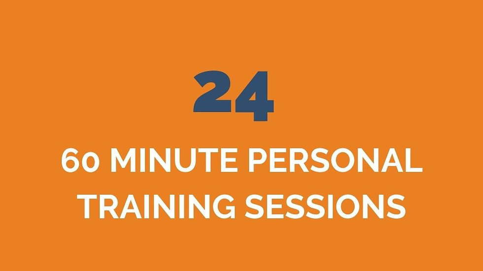 24 PERSONAL TRAINING ONLY