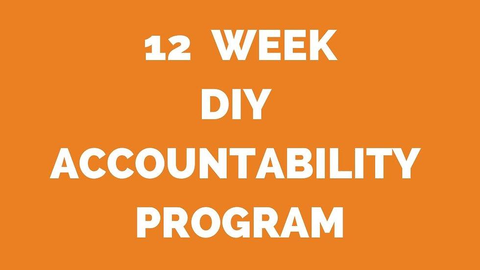 12 Week DIY Accountability Program